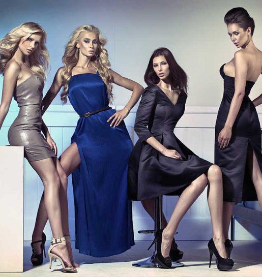 models-posing-four